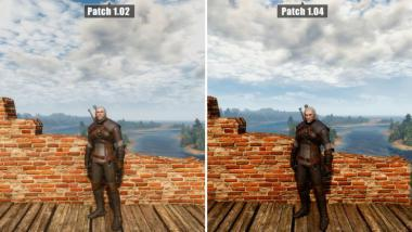 The Witcher 3: Video-Grafikvergleich Patch 1.02 gegen Patch 1.04 auf Ultra-Settings
