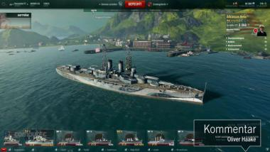 World of Warships: Interface Guide - Wo finde ich im Hafen was? - Video