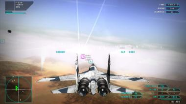 Vector Thrust: Launch-Trailer zur Action-Arcade-Kampfflugsimulation im Cel-Shading-Stil