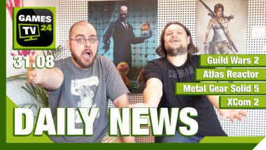 Video-Newsshow: Guild Wars 2, Metal Gear Solid 5, Atlas Reactor und mehr