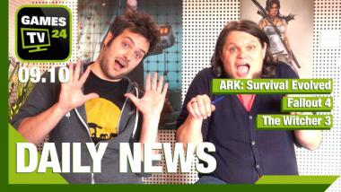 Video-Newsshow: ARK Survival Evolved, Fallout 4, The Witcher 3, Star Wars: Battlefront