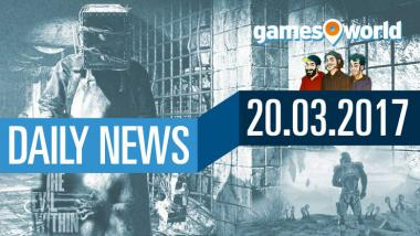 The Evil Within 2, Mass Effect: Andromeda, Nintendo: Video-News am 20. März