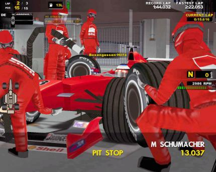 F1 Racing Championship - Patch im April