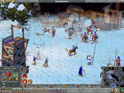Sechs spielbare Levels Empire Earth gefällig? PC Games 12/01!