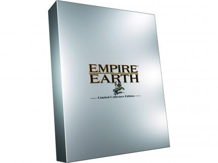 Empire Earth als Limited Collector's Edition.
