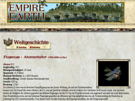 empire earth neue einheiten enth llt. Black Bedroom Furniture Sets. Home Design Ideas