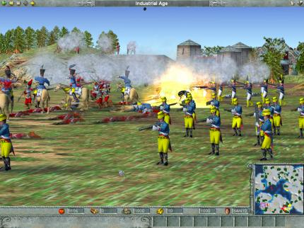 Empire Earth : Echtzeit-Strategie in 3D.