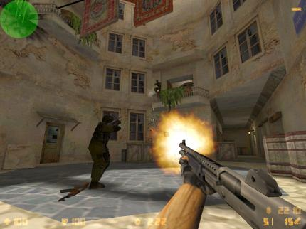 Counter-Strike - ein neues Steam-Update ist online.
