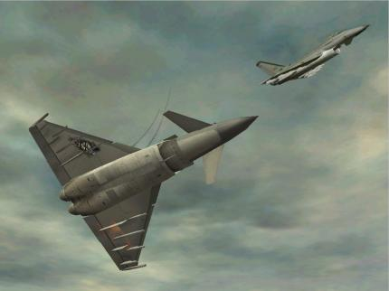 Eurofighter Typhoon: Besuch bei PC Games