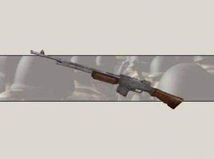 Die BAR (Browning Automatic Rifle)