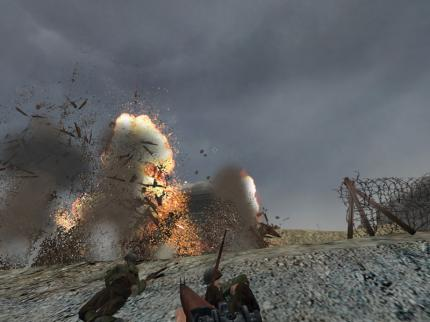 Bombig: Explosionen in Medal of Honor.