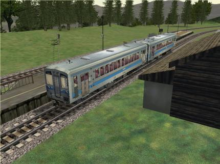 Im Lok & Tender-Bundle: Der Microsoft Train Simulator