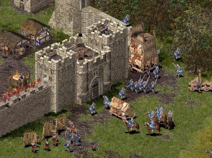 Stronghold - Castle Attack Minispiel