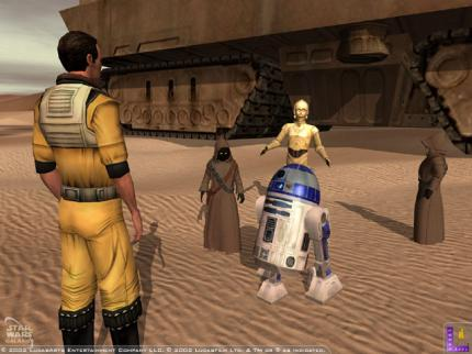 Star Wars Galaxies: Der Betatest startet Mitte Juli.