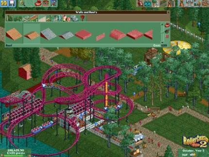 Rollercoaster Tycoon 2 - Grundlegendes