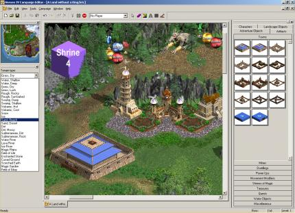 Heroes of Might & Magic 4: Kampagne