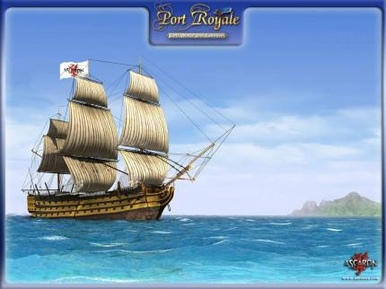 Eins der neuen Port Royale-Wallpapers.