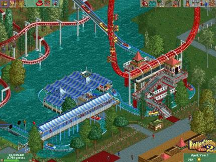 Rollercoaster Tycoon und Windows XP
