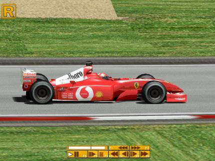 Der Ferrari 2k2 in Grand Prix 4