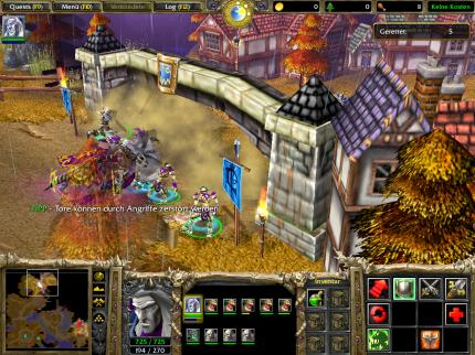 Warcraft 3 - der Patch lokalisiert Battle.net-Messages.