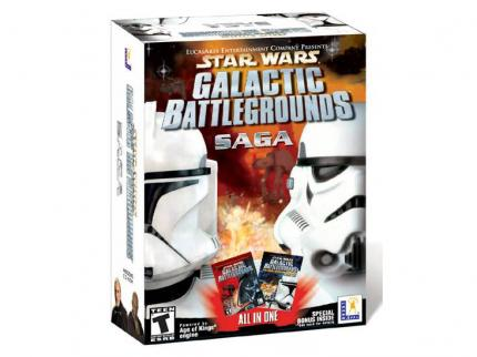 Star Wars: Galactic Battlegrounds Saga - das Komplettpaket