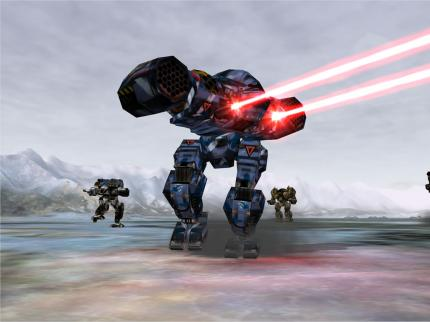 Mechwarrior 4: Mercenaries - die Demo ist da.