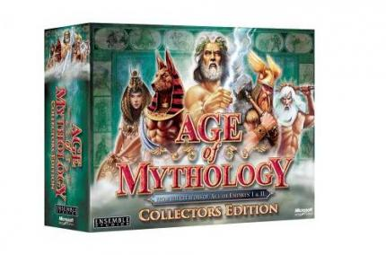 Die Collector's Edition von Age of Mythology