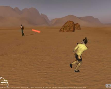 Star Wars Galaxies befindet sich in der Betaphase.