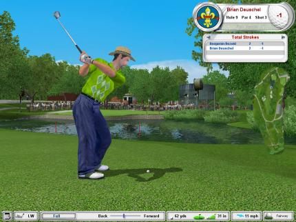 Tiger Woods PGA Tour 2003 - Rundentrick