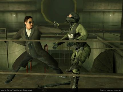 (Copyright by Warner Bros.) Enter the Matrix - das Spiel zu Matrix Reloaded.