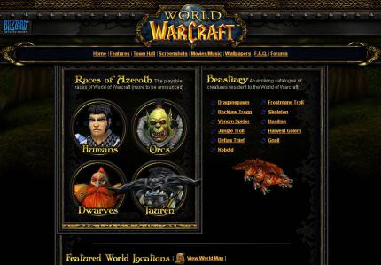 Die World of Warcraft Town Hall.
