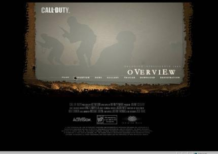 Die offizielle Website zu Call of Duty.