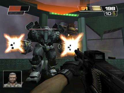 Schon Red Faction 2 bot solide Action-Knallerei.