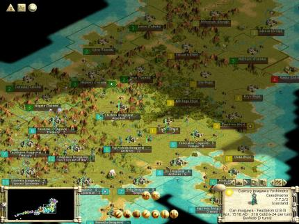 Civilization 3: Conquests - der Patch funktioniert mit mehreren Versionen des Add-ons.