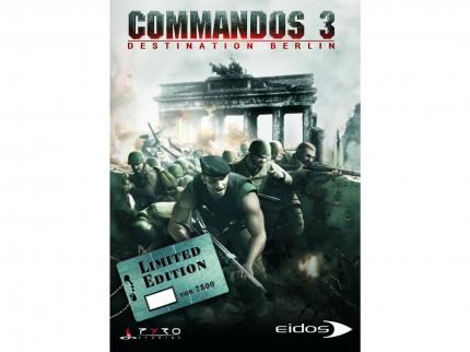 Commandos 3 Limited Edition - die Vorderseite.