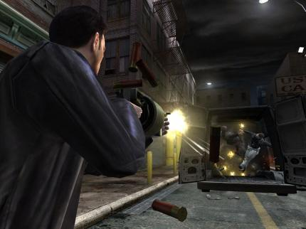 Max Payne 2 - es gibt neue Wallpapers.