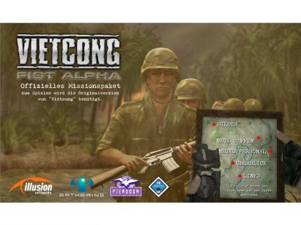 Die Website zu Vietcong: Fist Alpha