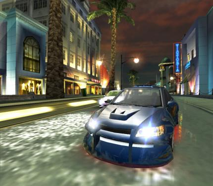 Screenshot aus dem Vorgänger Need for Speed: Underground