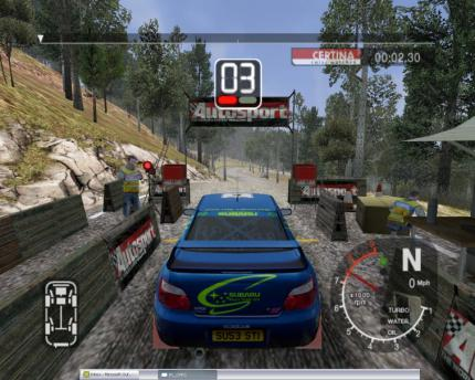 Colin McRae Rally 2005: Multiplayer-Demo