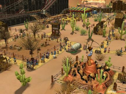 Rollercoaster Tycoon 3: Dritte Demo-Version