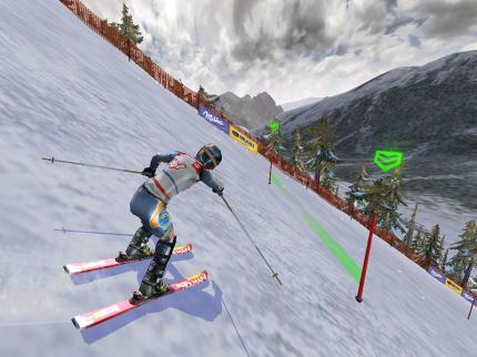 "Ski Racing 2005: Partnerschaft mit ""Herminator"""