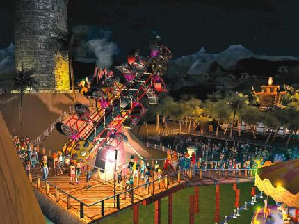 Rollercoaster Tycoon 3 (2)