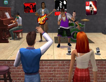 Sims 2: Wilde Campus-Jahre: Party-Shots