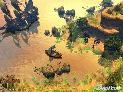 Age of Empires 3: Interview & Shots