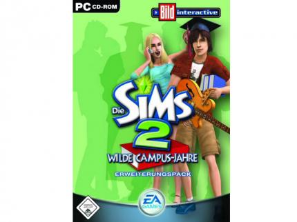 Sims 2: Wilde Campus-Jahre: Packungsmotiv