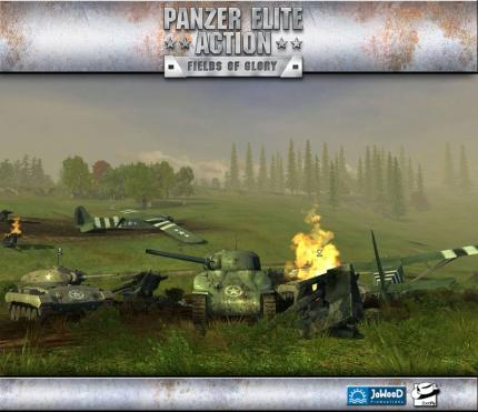 Panzer Elite Action: Webseite & Bilder