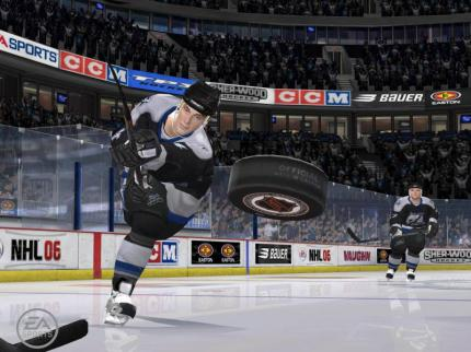 NHL 2006: Erster Trailer & Screens