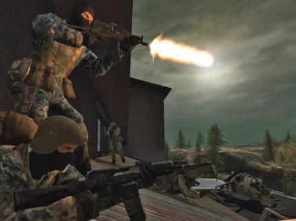 Battlefield 2: Special Forces: Nachtkampf in Bewegung