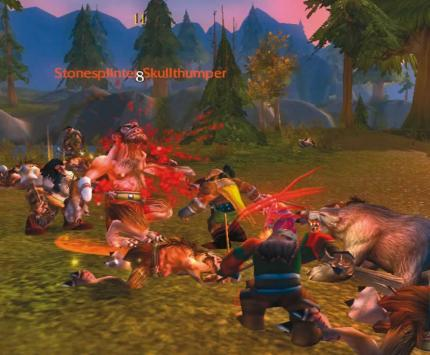 Beliebtes Onlinespiel: World of Warcraft.