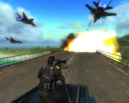 Just Cause: Vollversion auf PC Games 08/09. (1)